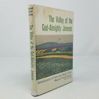 Valley of the God Almighty Joneses (First Edition, Wright Barney, 1965) FLW