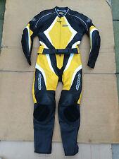 "RK Mens Two Piece Race Leather Motorbike Suit UK 36""-37"" Chest - 30"" Waist (L)"