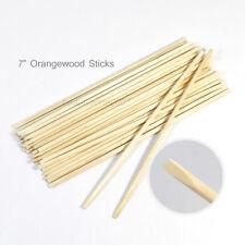 DL-C41 Cuticle Pusher Remover Pedicure Manicure Orange Wood Sticks Tool 144pcs