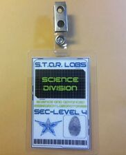 Flash/Arrow ID Badge - S.T.A.R. Labs Bio - Science Division cosplay prop costume