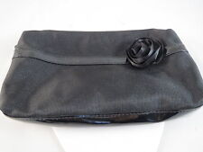 LANCOME COSMETIC BAG BLACK~BLACK ROSE, GWP, NEW