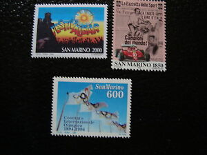 San Marino - 3 Sellos N - Stamp (Q)