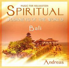 SPIRITUAL JOURNEYS OF THE WORLD - BALI - NEW AGE CD
