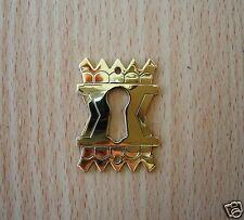 Keyhole Cover Brass Eastlake
