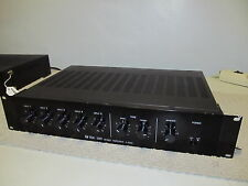 TOA 500 series PA Amplifier Mixer A-503A, 30 Watts, Rackmount,  VERY NICE, WORKS