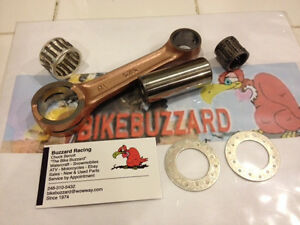 Maico 1983 - later 250 Air & Liquid Cooled Rod Crank Rebuild Kit NEW!