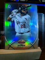 Trey Harris 2020 Bowman Chrome Arizona Fall League # AFL-TH Braves Insert