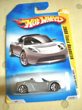 2008 Hot Wheels New Models #026 Tesla Roadster-Snowflake Edition - Variant
