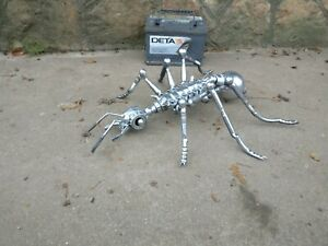 Silver ant present made myself office garden home water tool gift air child