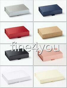 SHALLOW Bussines Luxury Gift MAGNETIC Boxes product presentation A6 A5 A4 size