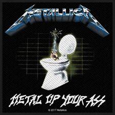 METALLICA - Patch Aufnäher - Metal Up Your Ass 10x10cm