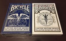 2 Decks Set of Bicycle Limited Edition Series 1 & 2 Playing Cards Poker RARE