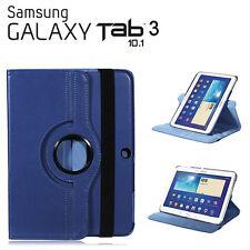 """FUNDA PARA TABLET SAMSUNG GALAXY TAB 3 10.1"""" P5200 GIRATORIA AZUL OSCURO"""