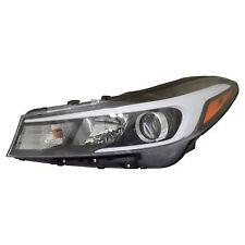 FIT KIA FORTE 2017 LEFT DRIVER HEADLIGHT HEAD LIGHT FRONT LAMP W/O LED