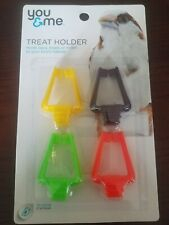 "You & Me Treat Clips 4-Pack, 2""L"