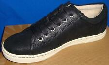 UGG Australia TOMI Black Bomber Leather Sneakers Size US 7, EU 38 NEW #1008487