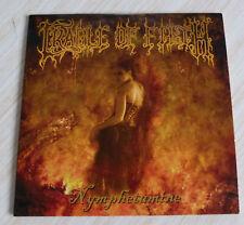 TRES RARE CD ALBUM PROMO 14 TITRES CRADLE OF FILTH NYMPHETAMINE