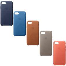 Original Apple iPhone 7 8 Plus Leder Schutz Hülle Case Cover Originalverpackung