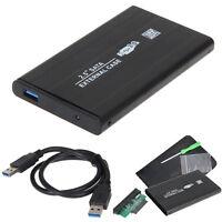 "USB 3.0 SATA 2.5""HARD DRIVE EXTERNAL ENCLOSURE HDD MOBILE DISK Portable BOX CASE"