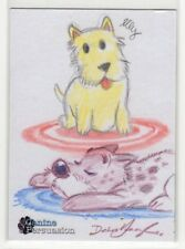 2018 5finity The Canine Persuasion Dean Yeagle & Lilia Costantino Sketch Card #1