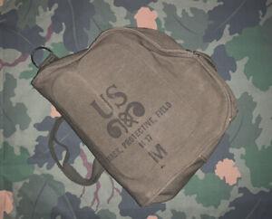 Original US Army Vietnam-Era M17 Gas Mask- Unissued With Bag