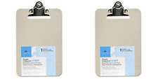Mini/Small Transparent Clipboard 6 x 9 inches, 2 Packs