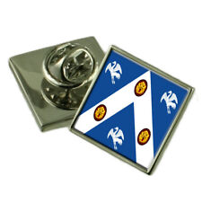 Raf Cranwell Military England Flag Lapel Pin Engraved Box