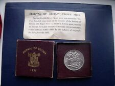 More details for 1951 king george vi five shilling coin festival of britain in card box of issue