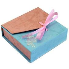 10PCS Exquisite Small Jewellery Cases Cardboard Paper Box Wedding Wholesale Gift