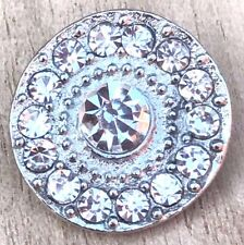 Beautiful Rhinestones Interchangeable Snap Button Noosa 18mm for snap jewelry