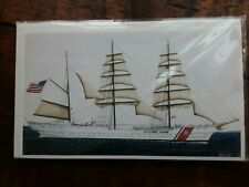 """Signed Print Us Coast Guard Ship """"Eagle"""""""