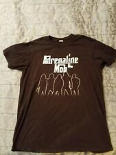 Adrenaline Mob T-Shirt - 2011 Tour 2-Sided -Original Mike Portnoy Xl Free Shipp