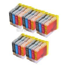20 Drucker Tinte Patronen Brother LC1000 DCP130C DCP135C MFC230C MFC235C je 5 Se