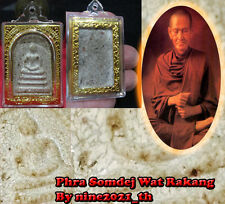 Rare!PHRA SOMDEJ LP TOH Pim Wat Rakang Old Wat Thai Amulet Buddha Antique Magic