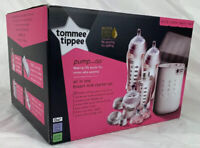 Tommee Tippee Pump and Go Complete All in One Starter Set Breast Milk Pump New