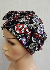 Women's chemo head wear, cancer bonnet cap, hair loss bandana, chemo head scarf
