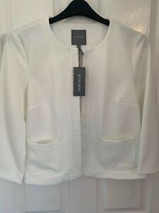 Principles Ivory shrug jacket size 12