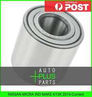 Fits NISSAN MICRA IND MAKE K13K 2010-Current - Rear Wheel Bearing 25X55X48