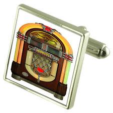 Musica JUKE BOX Argento Sterling Gemelli opzionale incisa BOX