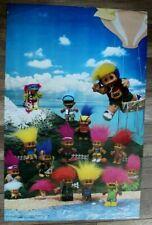 Barrie Russ Trolls Kidz Fun Toys 1990s American Arts Graphics Poster FN