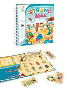 Smart Games Strand Spiele Knobelspiel Logik Magnetbuch Beschäftigung ab 6 Jahren