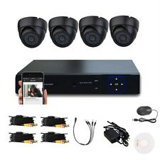 720P HD 6 IP Network IR Outdoor CCTV Wireless Camera Security System UB