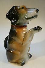 Dackelkanne Figurenkanne Porcelain Dachshund Animal Jug Kinderkanne to 1950