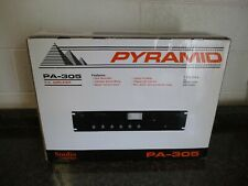Pyramid PA305 300 Watt PA Amplifier w/70V Output & Mic Talk Over FREE SHIPPING