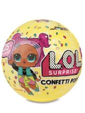 LOL Surprise CONFETTI POP DOLL💙💜💗 9 LAYERS OF FUN BALL L.O.L. ~ NEW!