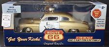 Route 66 1949 Mercury Coupe Texas Police Car 1:18 Scale Die Cast Highway Patrol