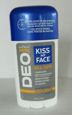 Kiss My Face Natural Man Deo Deodorant Energizing Sport Scent 2.48 oz. Stick