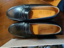 J.M Weston MOCASSIN 180 BLACK BOXCALFJ.M. WESTON ICONS