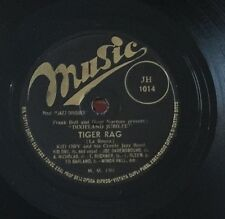 "RARE 78RPM 10"" KID ORY & HIS CREOLE JAZZ BAND EH! LA BAS/TIGER RAG MUSIC JH 1014"