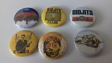 6 Didjits button badges 25mm Rick Sims Supersuckers Poice Truck Fizzjob